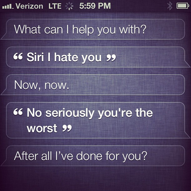 My conversation with Siri :) | Funny texts, Things to ask ... |Funny Siri Conversations Hal