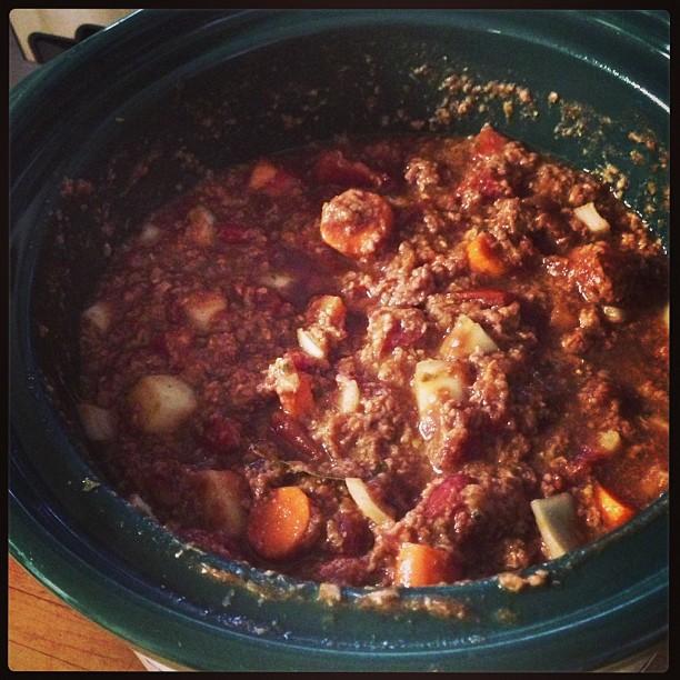 Crock pot spaghetti sauce for dinner tonight – dinnertime, get here ...