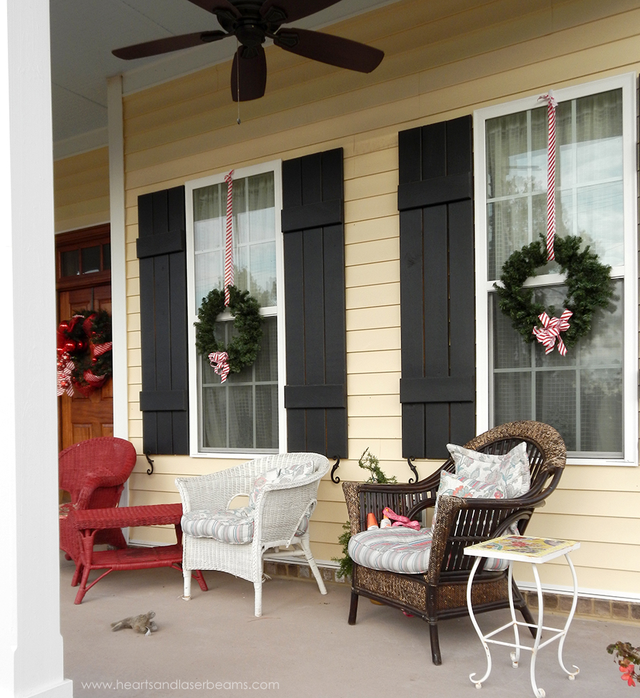 Front Porch - A Christmas Carole - Beautiful Christmas Decorations ...