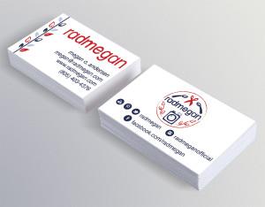 Business card design for Radmegan