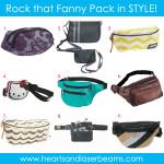 Cute Fanny Packs? Yup. Totally Cute Fanny Packs.