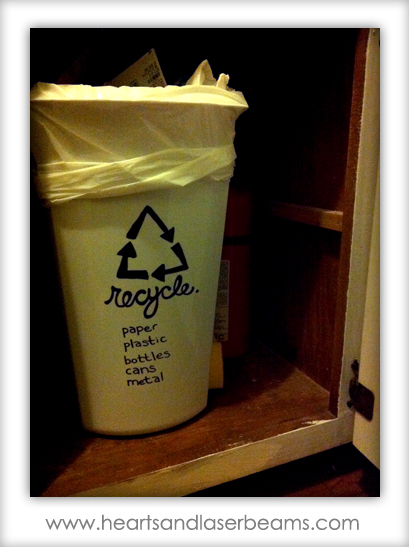 image relating to Trash Sign Printable called Totally free Printables: Sorting Rubbish Recycle Bin Indication
