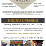 Grand Opening Party at Creative Outlet Studios this Weekend!