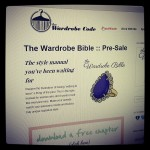 The Wardrobe Bible Pre-Sale Going on Now!