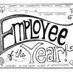 Employee of the Year Award – You're a Winner!