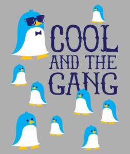 Cool and the Gang Penguins by Hearts and Laserbeams