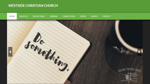 Mobile Responsive Web Design for Westside Christian Church - Hearts and Laserbeams