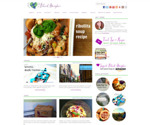 Web Design Portfolio - Beloved Atmosphere website by Hearts and Laserbeams