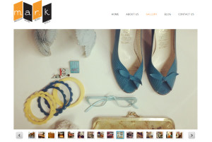 Web Design Portfolio - Mark Vintage website by Hearts and Laserbeams
