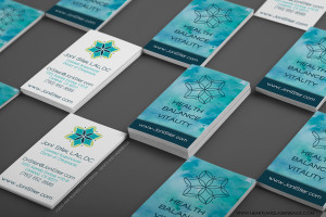Logo Design for Joni Stier - Business Cards front and back by Hearts and Laserbeams