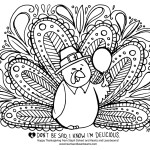 Free Turkey Coloring Pages for Thanksgiving