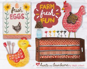 Product Concept Art: Farm Fresh Fun