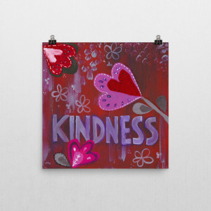 Fruits of the Spirit – Kindness art print