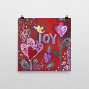 Fruits of the Spirit – Joy art print