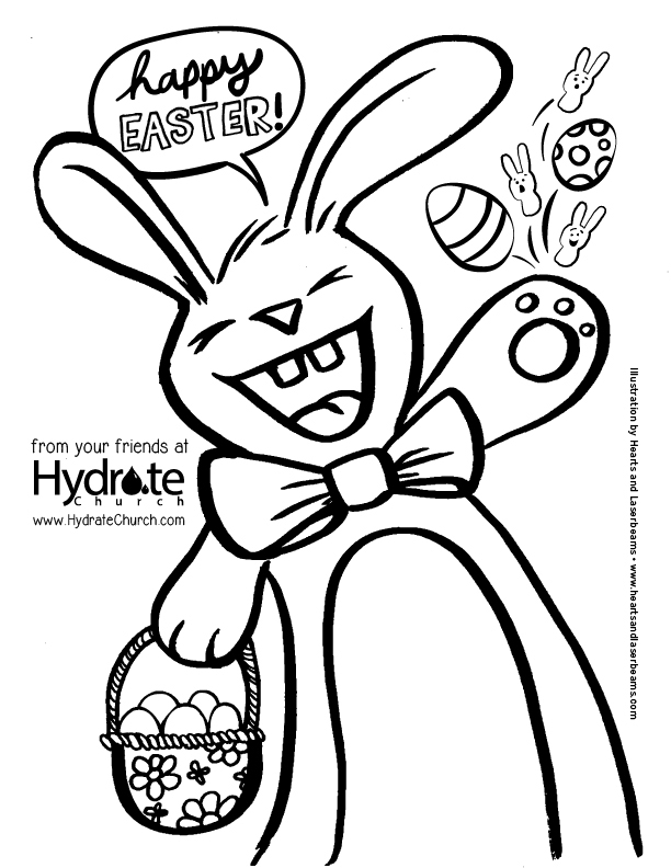Easter Coloring Pages And Easter Egg Hunt In Pooler